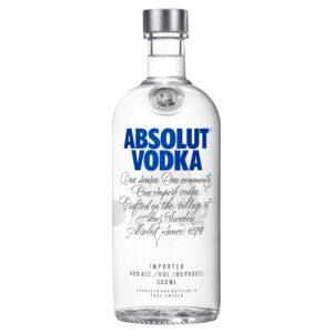 wódka absolut blue 0,5l, dystrybucja napojów alkoholowych i bezalkoholowych, hurtowa i detaliczna sprzedaż alkoholu