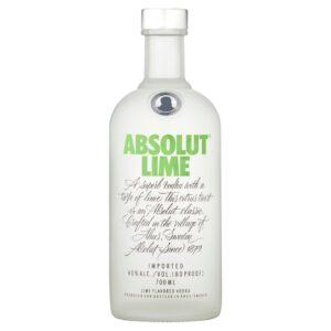 Wódka Absolut Lime 0,7l, wódka premium, dystrybucja napojów alkoholowych i bezalkoholowych, hurtowa i detaliczna sprzedaż alkoholu