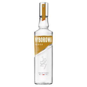 Wódka Wyborowa Polska Pszenica 0,5l, polska wódka, dystrybucja napojów alkoholowych, hurtowa i detaliczna sprzedaż alkoholu