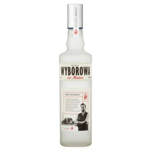 Wyborowa od Mistrza Vodka 0,5l, polska wóka, wódka żytnia, dystrybucja napojów alkoholowych i bezalkoholowych, hurtowa i detaliczna sprzedaż alkoholu