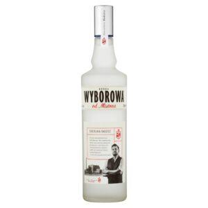 Wódka Wyborowa od Mistrza 0,7l, polska wódka, dystrybucja napojów alkoholowych i bezalkohlowych, import, eksport, hurtowa i detaliczna sprzedaż alkoholu