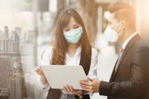 maski ochronne podczas epidemii