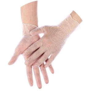 rękawiczki winylowe bezpudrowe jednorazowe