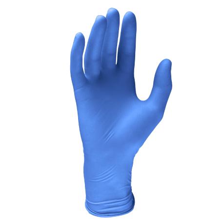 jednorazowe rękawiczki nitrylowe bezpudrowe