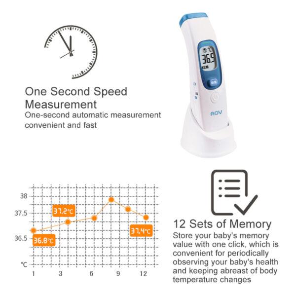 termometr bezkontaktowy na podczerwień