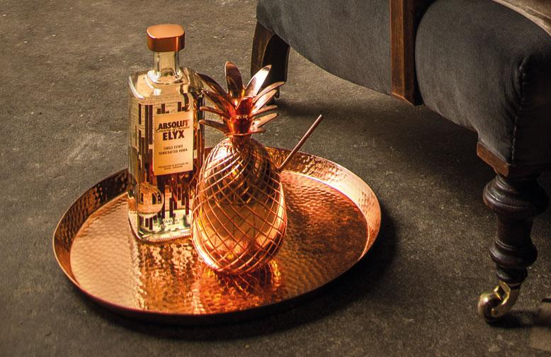Wódka Premium Absolut Elyx, najlepsza wódka, marka premium, marki alkoholowe, dystrybucja alkoholi