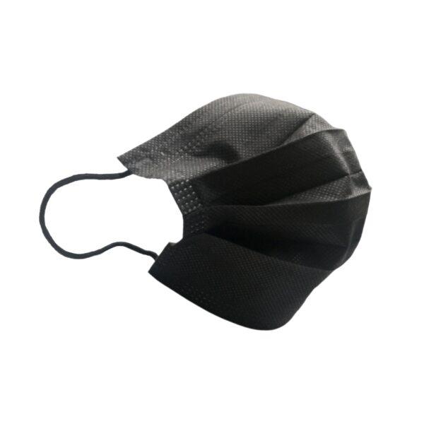 3-warstwowa czarna maska ochronna niemedyczna, środki ochrony indywidualnej